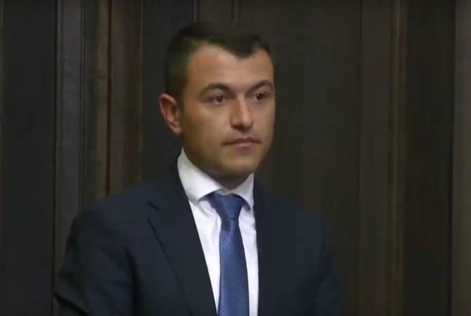 Սուրեն Թովմասյանը նշանակվեց Կադաստրի կոմիտեի ղեկավար