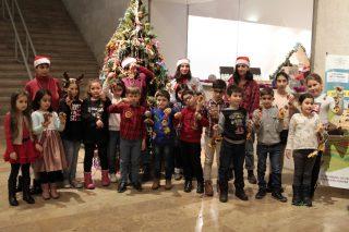 Beeline. Գաֆէսճեան արվեստի կենտրոնում անցկացվեց «Ամանորն ու Սուրբ Ծննդյան հրաշքը» մանկական ծրագիրը