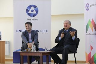 Հայաստանի նախագահ Արմեն Սարգսյանը հանդես է եկել որպես «More for Metsamor» նախագծի առաջին բանախոս