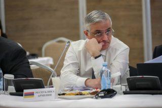Փոխվարչապետ Մհեր Գրիգորյանը Ալմաթիում մասնակցում է ԵԱՏՀ խորհրդի նիստին