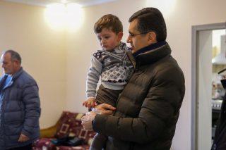 ՎիվաՍել-ՄՏՍ-ն ու «Ֆուլեր տնաշինական կենտրոն»-ը հյուրընկալվել են Մայակովսկի գյուղում ապրող Մուրադյանների ընտանիքում՝ հաշվետու այցով