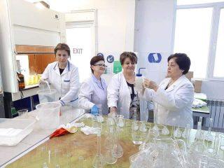 «Վերլուծական քիմիայի հիմնական դրույթները» թեմայով դասընթաց՝ Թեղուտ ՓԲԸ-ում