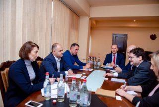 ՏՄՊՊՀ նախագահը ՎԶԵԲ-ի փոխնախագահի հետ քննարկել է տեխնիկական աջակցության ծրագրին վերաբերող հարցեր