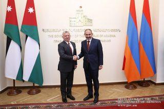 Վարչապետ Փաշինյանը և Աբդալլահ Երկրորդը քննարկել են հայ-հորդանանյան տնտեսական կապերի զարգացմանը վերաբերող մի շարք հարցեր