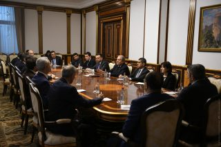 Նախագահ Արմեն Սարգսյանը հանդիպել է ՏՏ ոլորտի ընկերությունների ներկայացուցիչների հետ