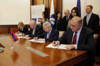 Ստորագրվել է Գյումրու ճանապարհներն ու փողոցների լուսավորությունը արդիականացնելու մասին դրամաշնորհային համաձայնագիրը