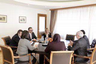 Տիգրան Խաչատրյանը և Իրանի դեսպանը քննարկել են առևտրատնտեսական օրակարգի առաջնահերթ հարցերը