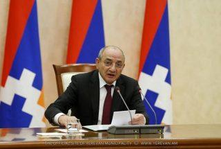 Բակո Սահակյանը նախագահել է Արցախի կառավարության նիստը