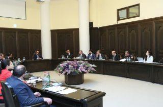 Տեղի է ունեցել Կորոնավիրուսի տարածումը կանխարգելող աշխատանքները համակարգող հանձնաժողովի հերթական նիստը