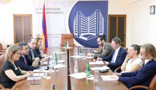 Քննարկվել են հայ-շվեդական առևտրատնտեսական համագործակցության հեռանկարները