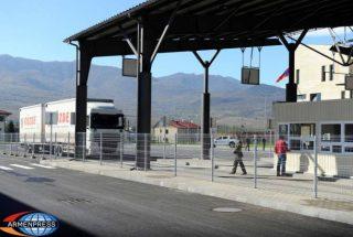 Բեռնատար ավտոմեքենաները մինչև օրվա ավարտը կհատեն հայ-վրացական սահմանը