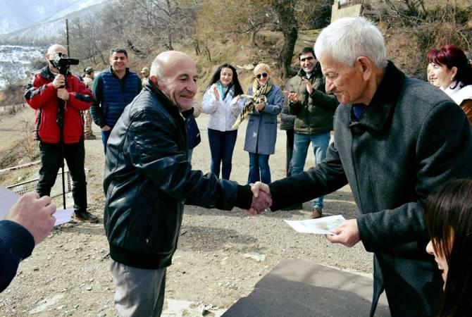 700.000-ական դրամ դրամաշնորհ՝ Սյունիքի մարզի 91 ընտանիքի