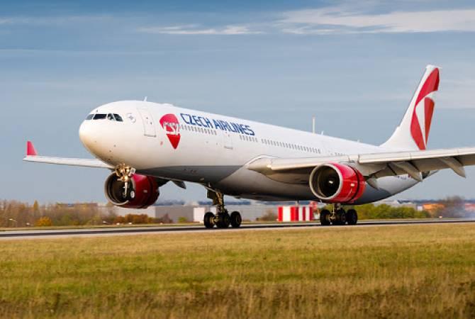 «Czech Airlines»-ը վերսկսում է միջազգային ուղևորափոխադրումները