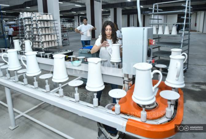 162 նոր աշխատատեղ՝ կերամիկական սպասքի արտադրության ոլորտում