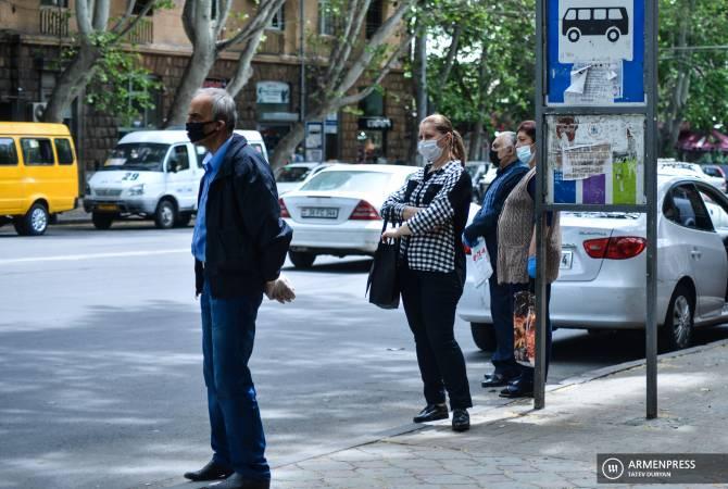 Հայաստանում հանրային տարածքներում դիմակ կրելը դառնում է պարտադիր