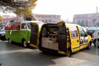 Երևանում շրջիկ առևտրի կետերը հատուկ տարածք տեղափոխելու համար կգանձվի 30 հազար դրամ