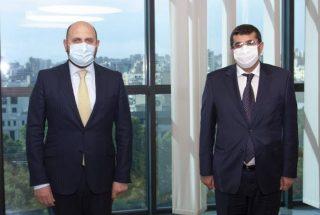 Հանդիպել են Արցախի և ՀՀ Կենտրոնական Բանկի նախագահները