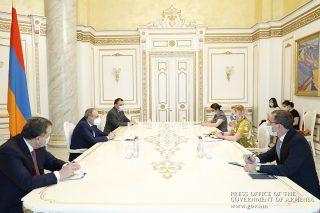 Վարչապետը և ՀՀ-ում ԵԽ գրասենյակի ղեկավարը քննարկել են Հայաստանի բարեփոխումների օրակարգը