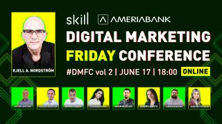 Թվային մարքեթինգի 2-րդ օնլայն կոնֆերանսը՝ Skill-ի և Ամերիաբանկի համագործակցությամբ