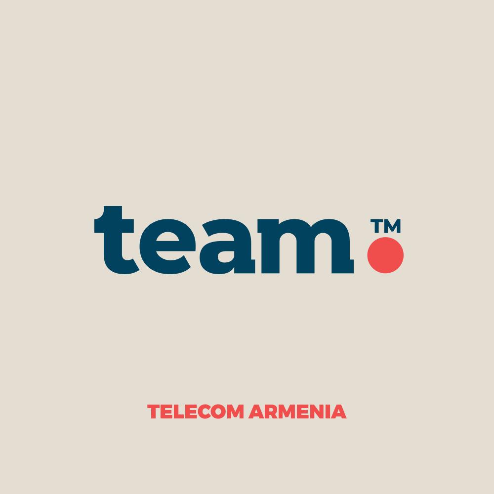 Team. Telecom Armenia-ն ներկայացրել է իր ապրանքային նշանը