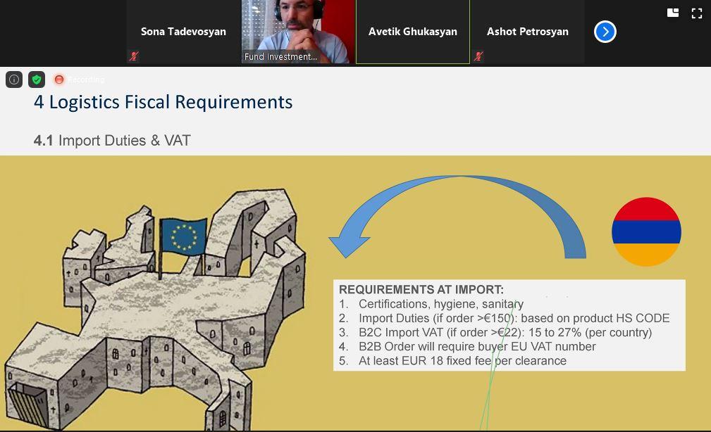 Եվրոպական միության EU4Business ծրագիրն օգնում է հայաստանյան ընկերություններին զարգացնել էլեկտրոնային առևտուրը