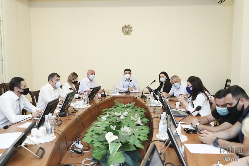 ԱԺ տնտեսական հարցերի մշտական հանձնաժողովի արտահերթ նիստ
