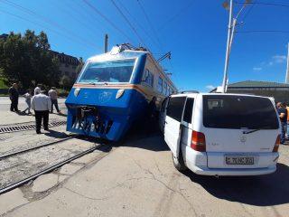 ՀԿԵ. Երթևեկության կանոնների խախտումը երկաթուղու Ծովագյուղ-Երևան հատվածում ՃՏՊ-ի պատճառ է հանդիսացել