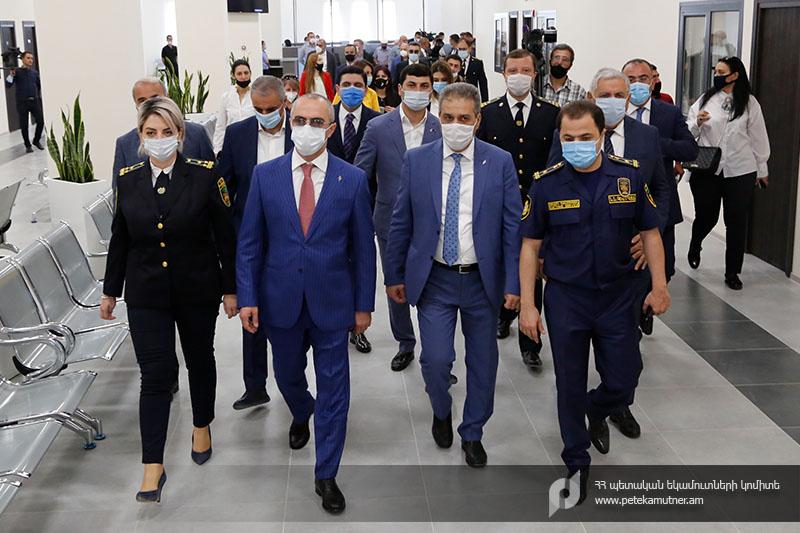 ՊԵԿ. Գյումրիում բացվել է Հյուսիսային  ԱՏԳ (արտաքին տնտեսական գործունեության) սպասարկման կենտրոնը