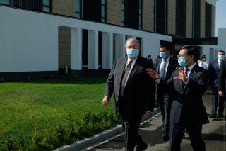 Արմեն Սարգսյանն այցելել է Հայաստանում Չինաստանի դեսպանություն