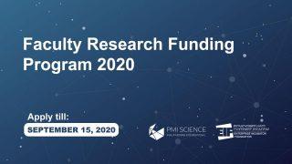 ՁԻՀ. Հետազոտական աշխատանքների ֆինանսավորման 2020թ.-ի ծրագիրն ընդունում է հայտեր
