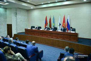 Հայաստանի գործարարները ԵԱՏՀ նախարարներին ներկայացրին ԵԱՏՄ-ում բիզնեսի համար առկա խնդիրները