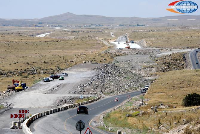 Հյուսիս-հարավ ճանապարհային միջանցքի Տրանշ-3-ում շինարարությունը շարունակվում է