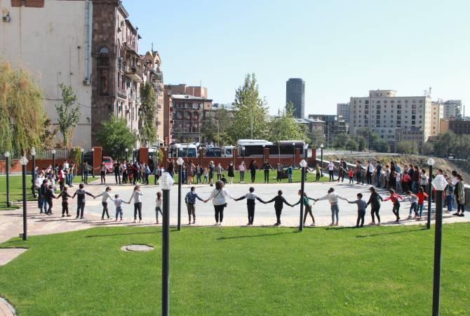 «Երևան իմ սեր» հիմնադրամը նոր ծրագիր է սկսել Արցախից տեղափոխված երեխաների համար