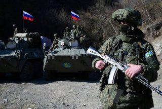Ռուս խաղաղապահներն ապահովում են քաղաքացիական տրանսպորտի անվտանգ շարժը Լաչինի միջանցքով