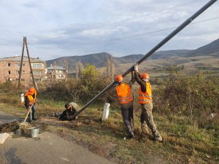 Վիվա-ՄՏՍ. Սահմանապահ գյուղերի փողոցները շարունակում են լուսավորվել