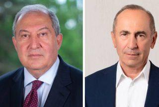 Արմեն Սարգսյանը հանդիպել է Ռոբերտ Քոչարյանի հետ