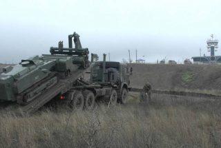 Ռուս խաղաղապահները «Ուրան-6»-ի միջոցով ականազերծել են Ստեփանակերտի օդանավակայանը