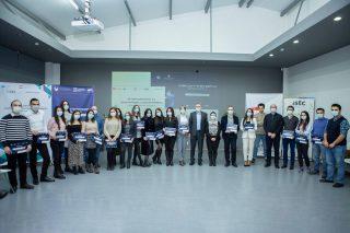 ՀԱՊՀ «Արդյունաբերական և համակարգային ինժեներություն» և ԵՊՀ «Տվյալների գիտությունը բիզնեսում» մագիստրոսական ծրագրերի ուսանողները ստացել են վկայագրերը