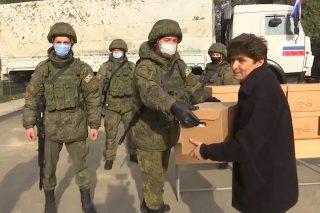 Ռուս խաղաղապահները հումանիտար օգնություն են հասցրել Մարտակերտ