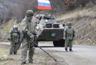 ՌԴ ՊՆ. Ռուս խաղաղպահներն ականազերծման աշխատանքներ են իրականացնում Մարտակերտում