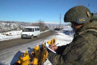 Ռուսաստանյան խաղաղապահները պարբերաբար հակաահաբեկչական վարժանքներ են իրականացնում Արցախում