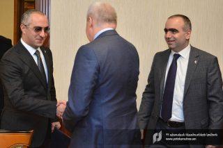ՊԵԿ նախագահն ընդունել է ՀՀ-ում ՌԴ արտակարգ և լիազոր դեսպանին