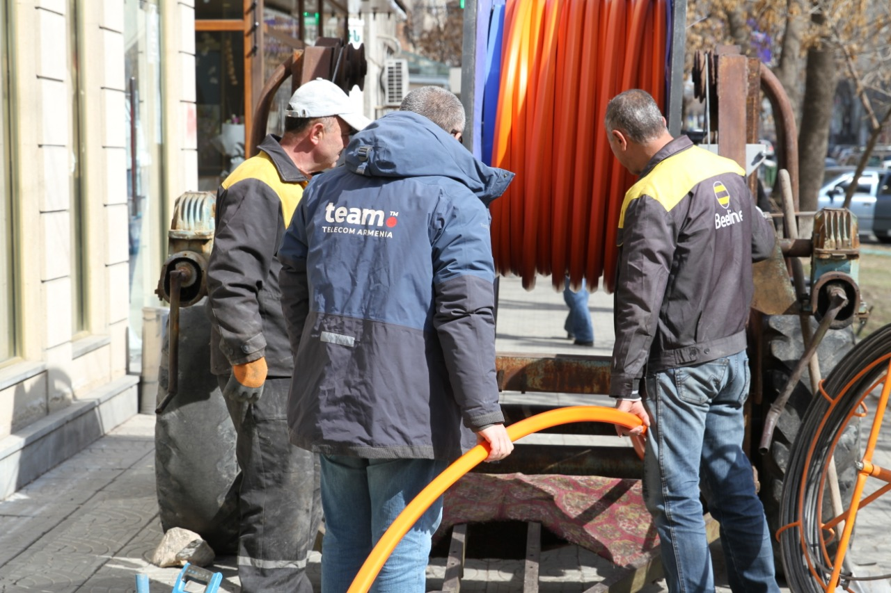 Beeline. Երևանում կառուցվում է աշխարհի ամենաարագ ինտերնետ ցանցերից մեկը
