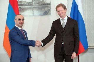 ՊԵԿ նախագահը հանդիպել է Ռուսաստանի Դաշնության դաշնային հարկային ծառայության ղեկավարի հետ