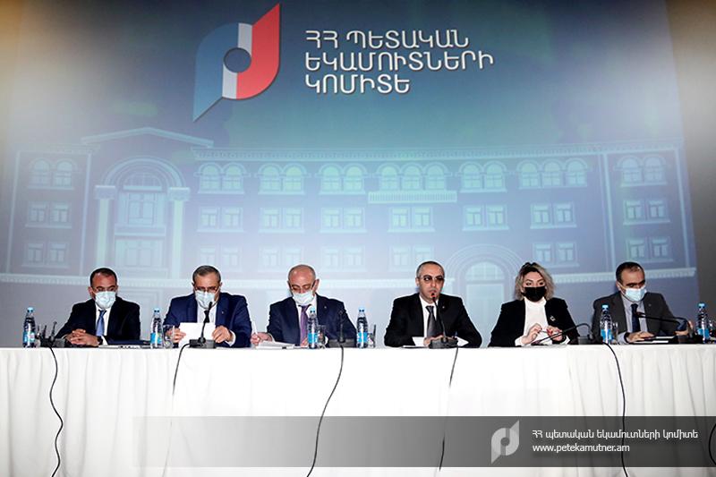 ՊԵԿ նախագահ Էդվարդ Հովհաննիսյանը հանդիպել է խոշոր հարկ վճարողների հետ