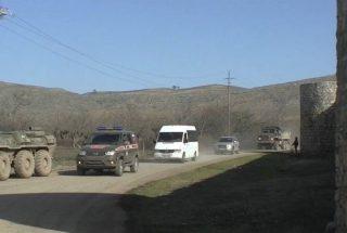 ՌԴ ՊՆ. Արցախից շուրջ 30 ուխտավորներ ռուս խաղաղապահների ուղեկցությամբ այցելել են Ամարասի վանք