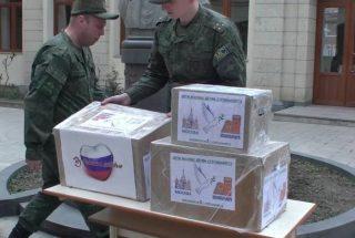ՌԴ ՊՆ. Ռուս խաղաղապահները բարեգործական ընկերությունների հետ մարդասիրական ակցիաներ են արել Արցախում