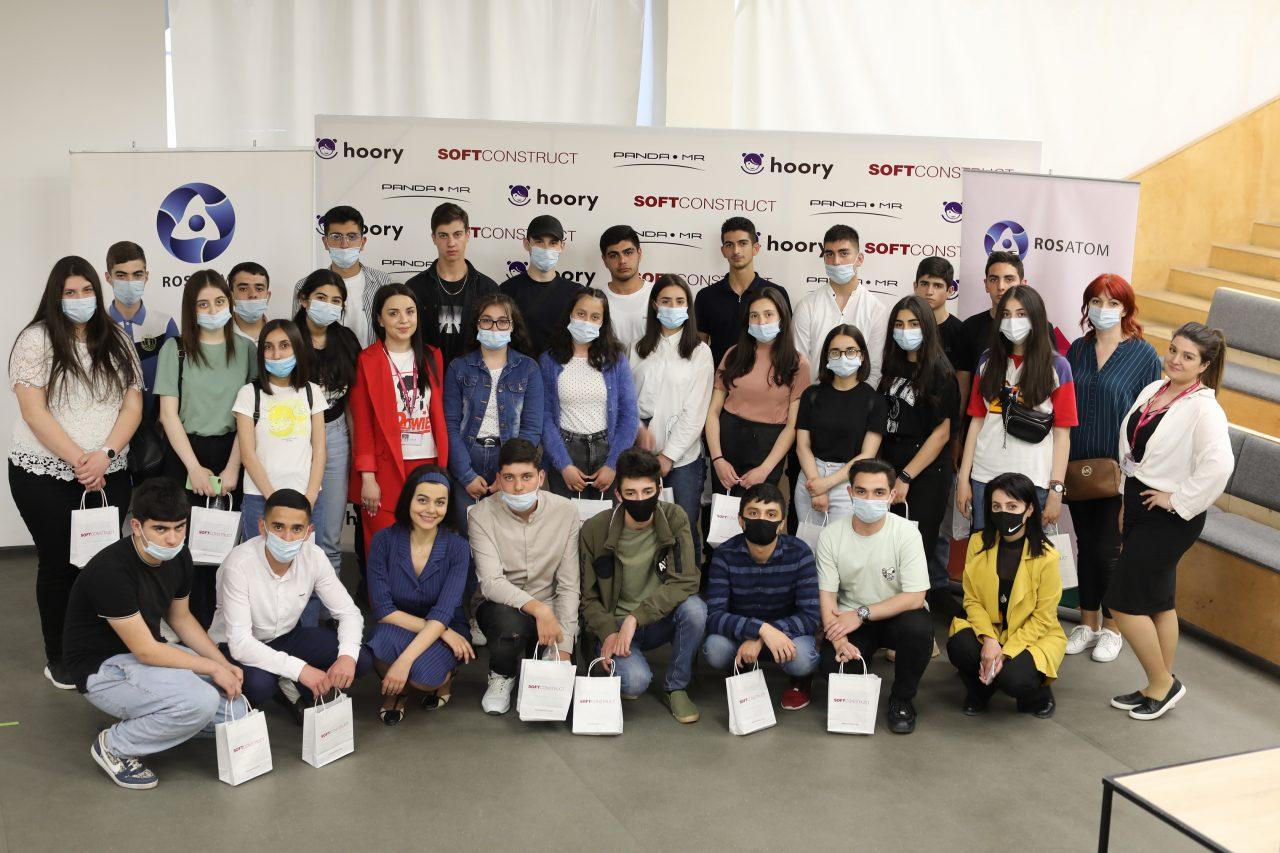 Մեծամորի ավագ դպրոցի աշակերտները ծանոթացել են ժամանակակից տեխնոլոգիաներին «Ռոսատոմ» պետկորպորացիայի կրթական ծրագրի ՝ «More for Metsamor»-ի շրջանակում: