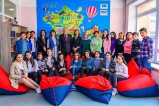 Գյումրիում ստեղծվել է տեխնիկական մեծ հագեցվածությամբֆրանսերենի դասարան