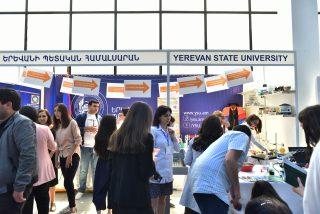 Մեկնարկել է «Կրթություն և կարիերա EXPO 2021» եռօրյա ցուցահանդեսը